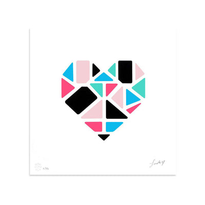 Love+Made, Heart II by Love+Made-Print-Poster Child Prints