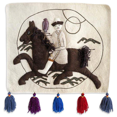 Man on Horse Wall Hanging by Found Art | Found Art | Poster Child Prints