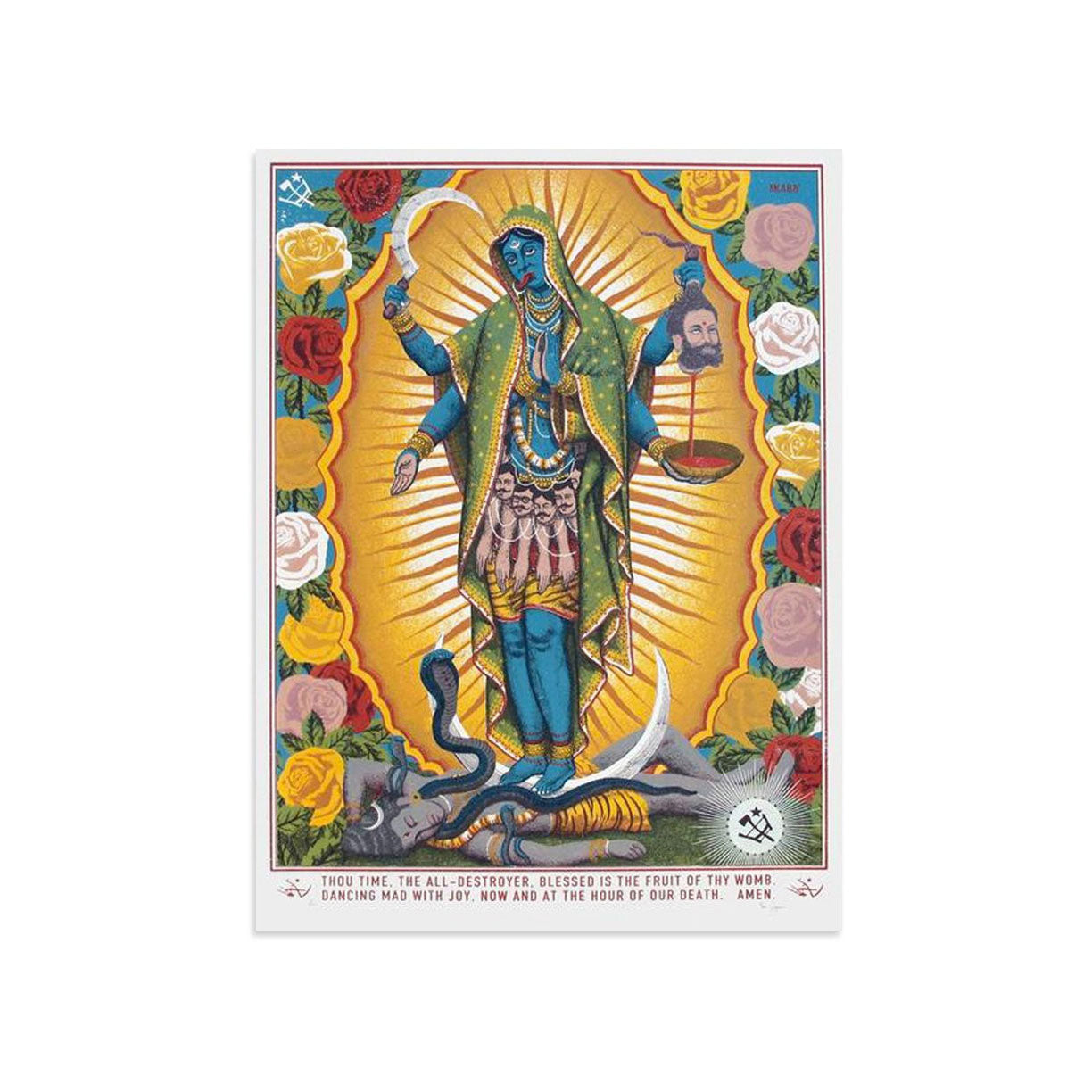 Mary Kali - Archive by Ravi Zupa-Archive-Poster Child Prints