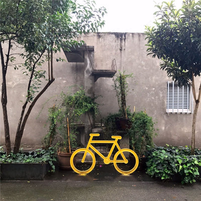Yellow Bike is a newPrint by PCP Collection | Poster Child Prints