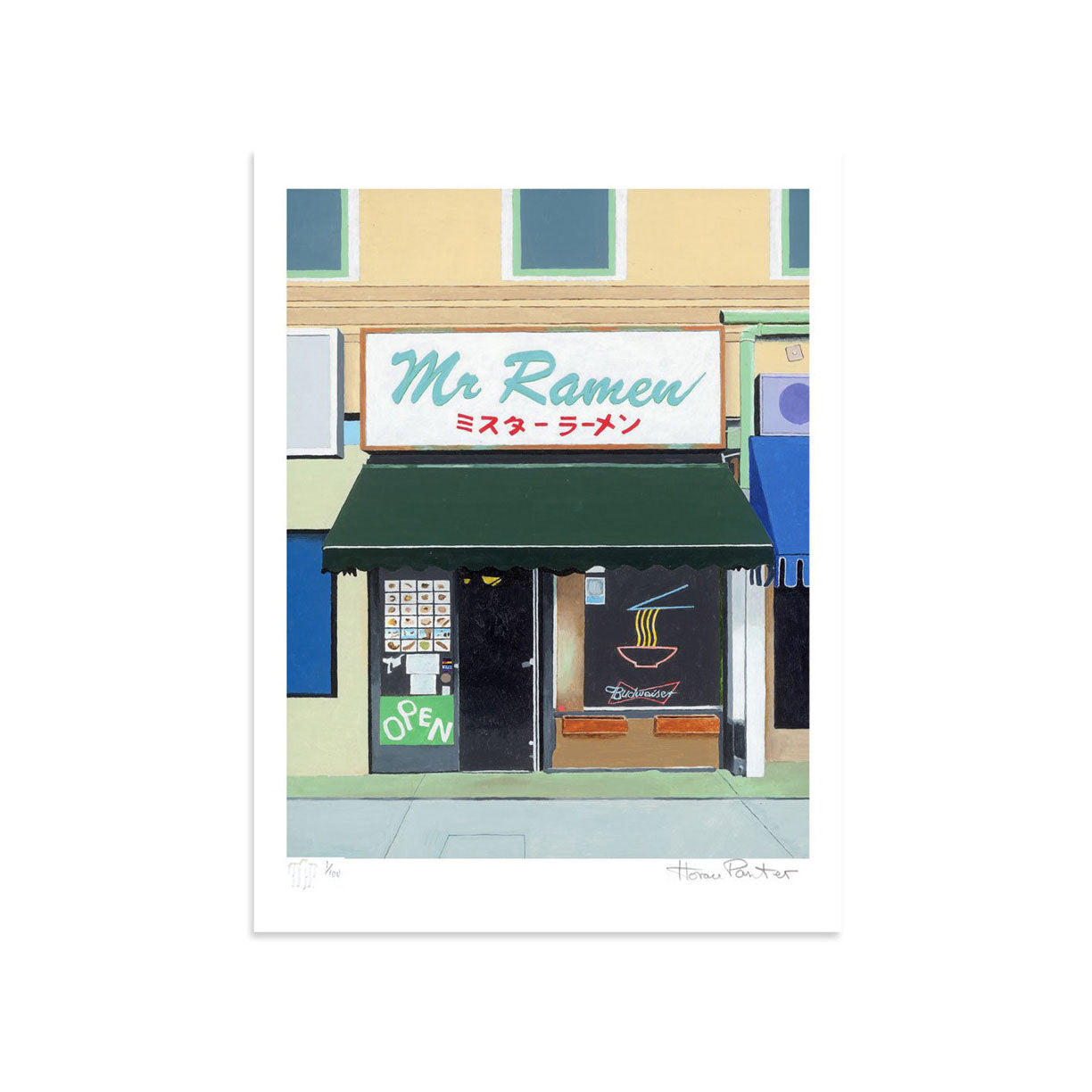 Mr. Ramen by Horace Panter | Print | Poster Child Prints