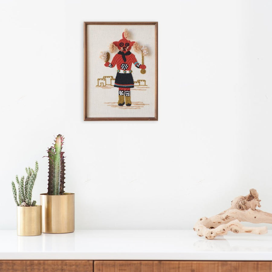 Mud Head Kachina, Found Art | Poster Child Prints