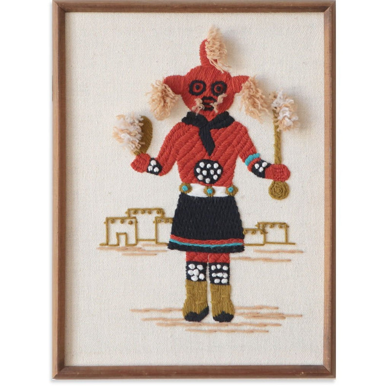 Mud Head Kachina by Found Art | Found Art | Poster Child Prints