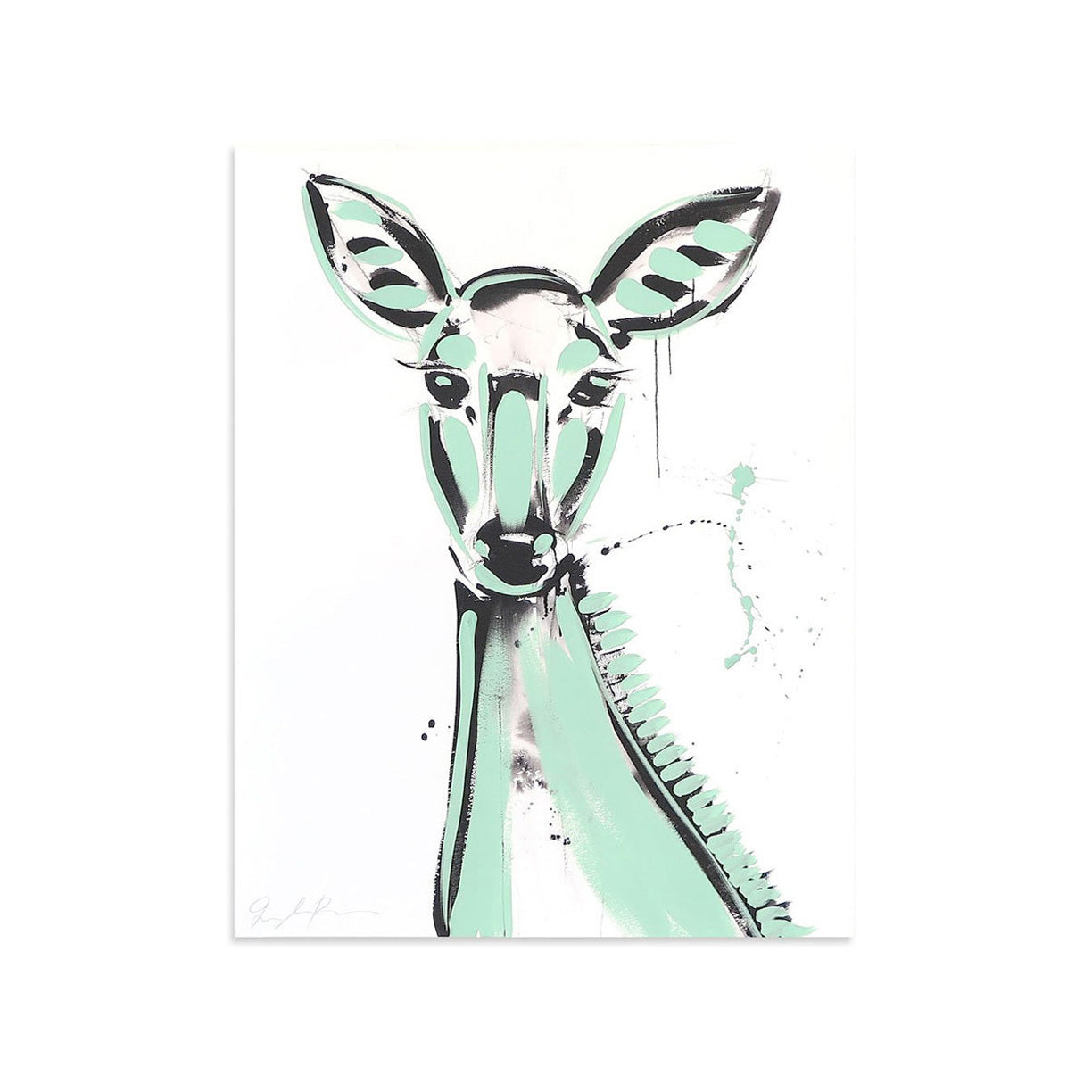 Doe AE/5 by Jenna Snyder-Phillips | Artist Edition | Poster Child Prints