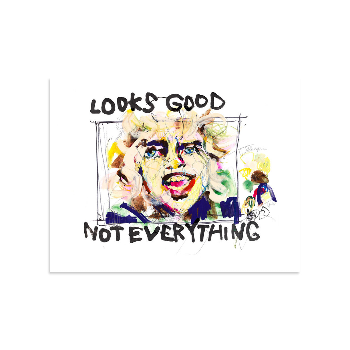 Looks Good Not Everything by Hannah Hooper | Print | Poster Child Prints