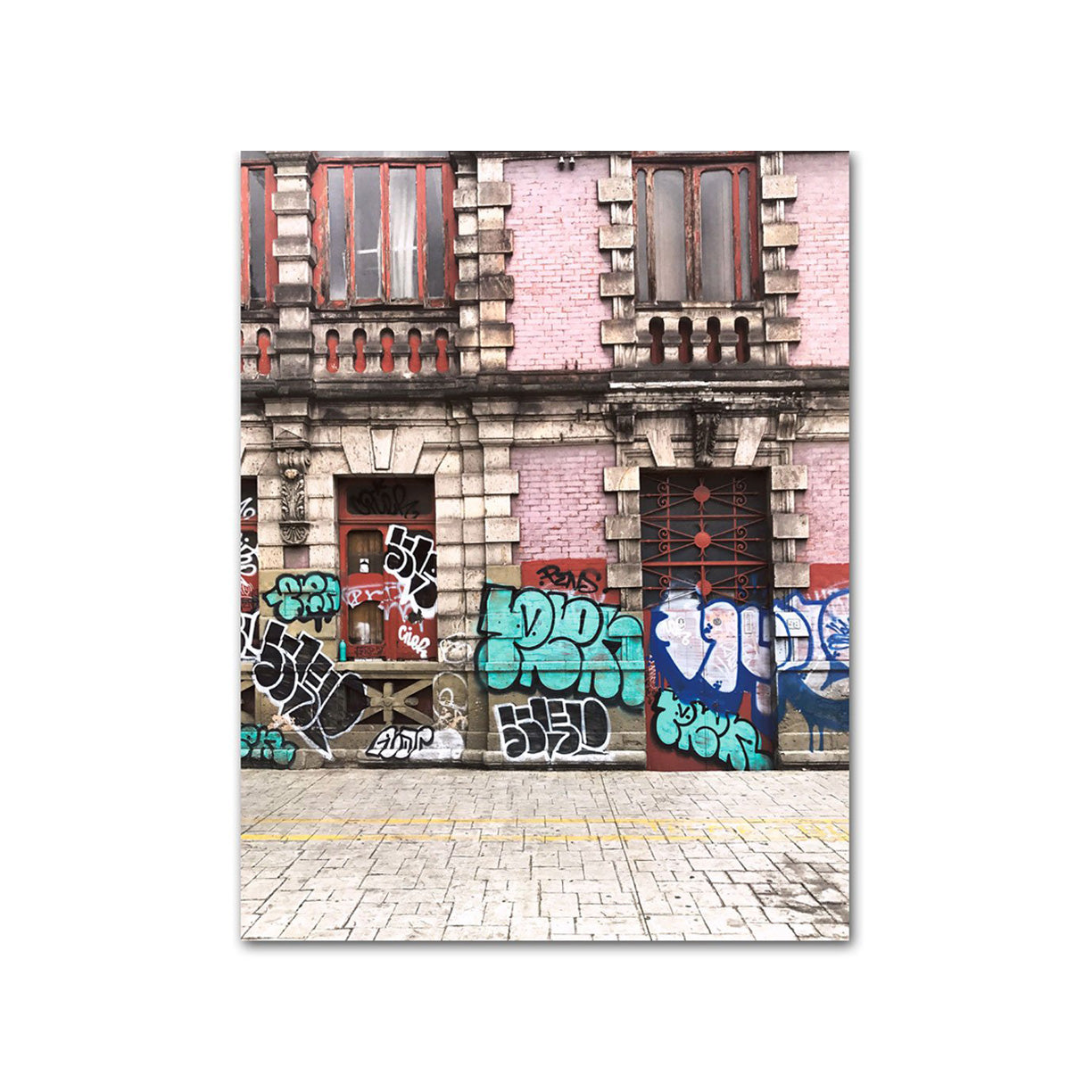 Walls of Mexico City by PCP Collection-Print-Poster Child Prints