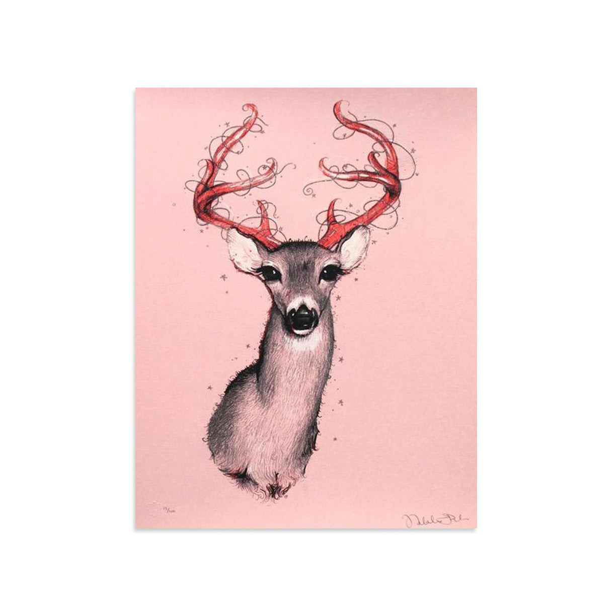Oh Deer by Natalia Fabia | Archive | Poster Child Prints