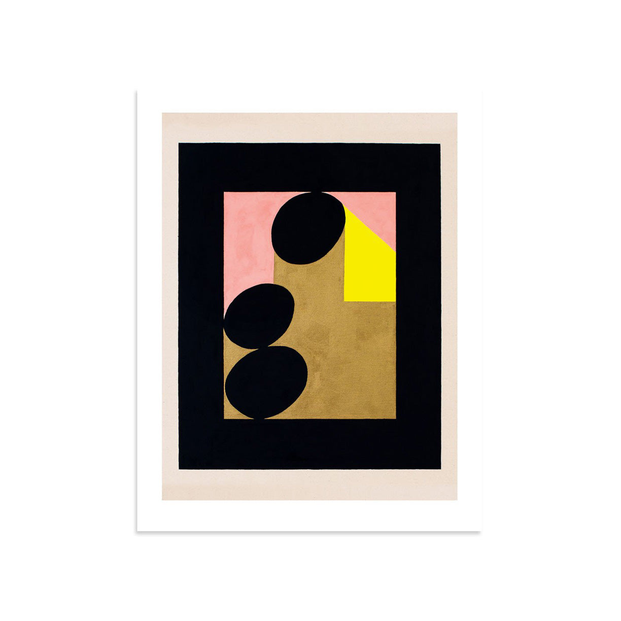 Framed Stories (a woman with yellow hair) by Shohei Takasaki | Print | Poster Child Prints
