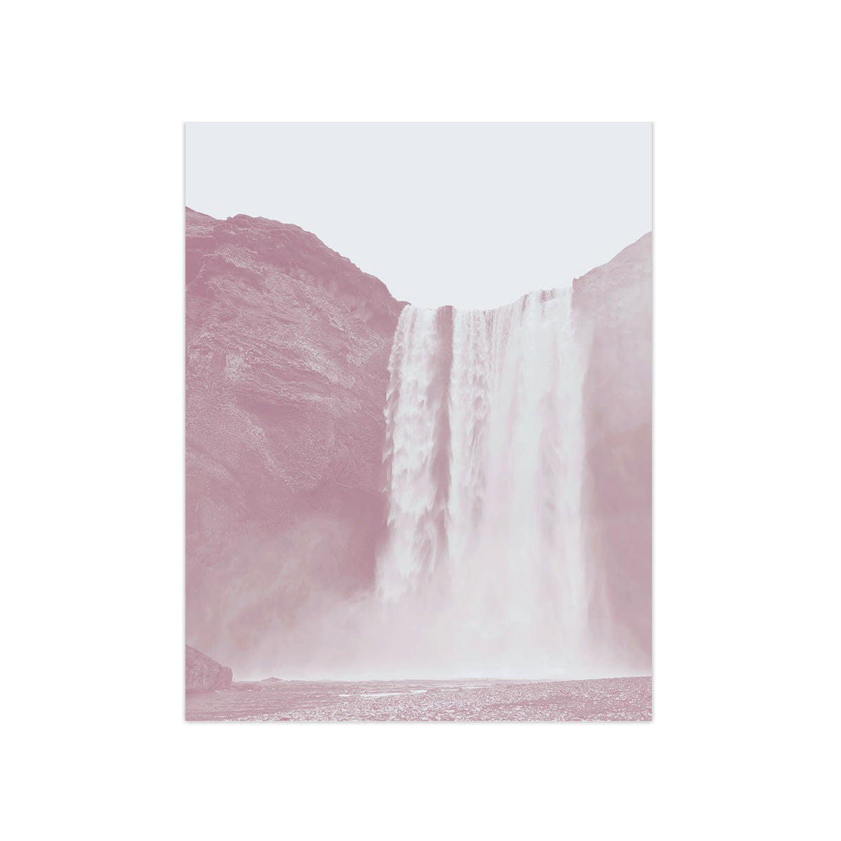 Waterfall by PCP Collection-Print-Poster Child Prints