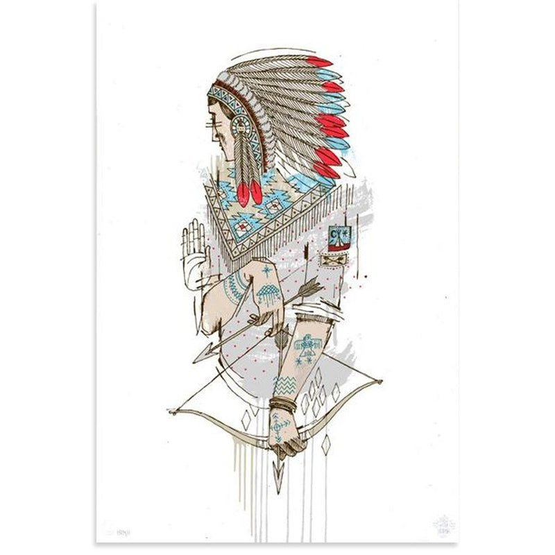 Native (Artist Edition 16) by Word To Mother-Artist Edition-Poster Child Prints