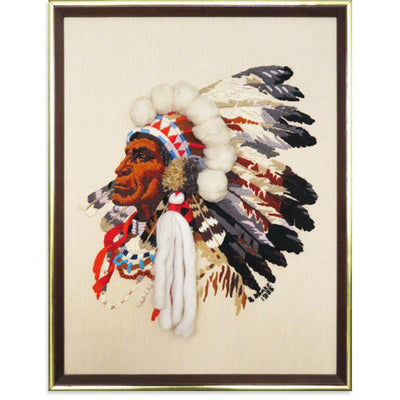 Native American Chief, Found Art | Poster Child Prints