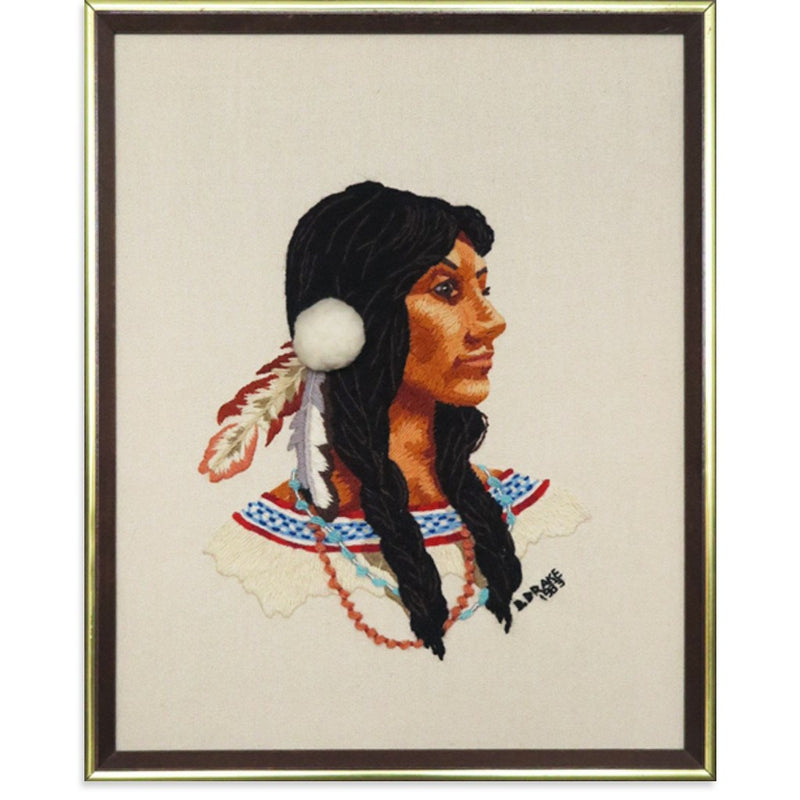 Native American Woman by Found Art | Found Art | Poster Child Prints