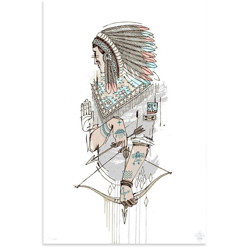 Native by Word To Mother-Print-Poster Child Prints
