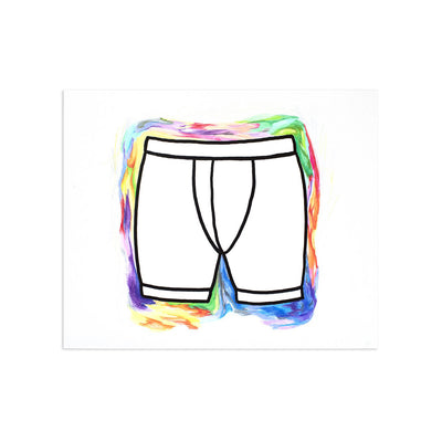 Briefs (Fellas) AE/1 by Bea | Artist Edition | Poster Child Prints