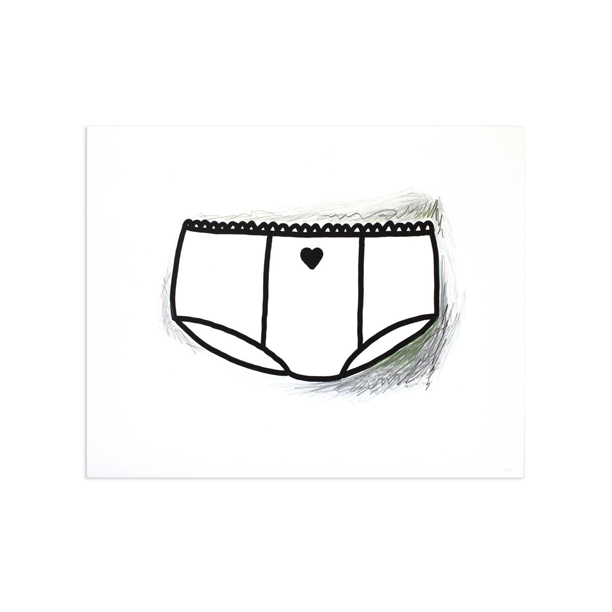 Briefs (Ladies) AE/2 by Bea | Artist Edition | Poster Child Prints