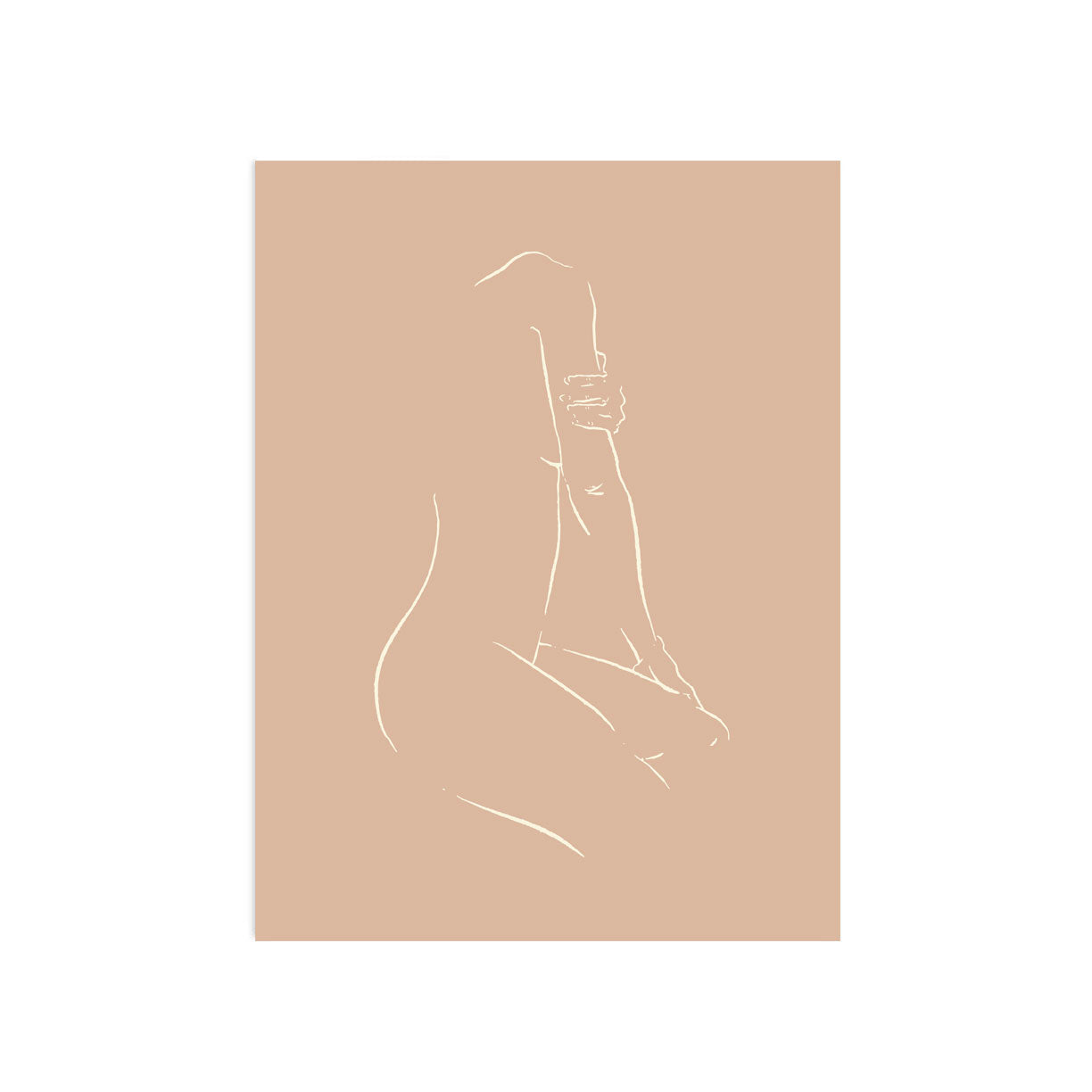 Nude Seated 2 by Jimmy Thompson | Print | Poster Child Prints