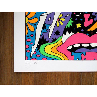 Oliver Hibert | Psych Art | LSDUFO | All Over Print
