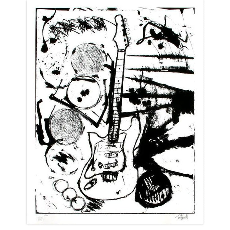 My Operation Ivy Guitar (Black & White Edition) - Archive