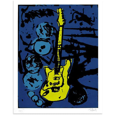 My Operation Ivy Guitar (Color Edition), Tim Armstrong | Poster Child Prints
