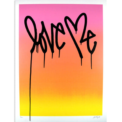 Love Me, Party Day - Archive | Curtis Kulig | archive | Poster Child Prints