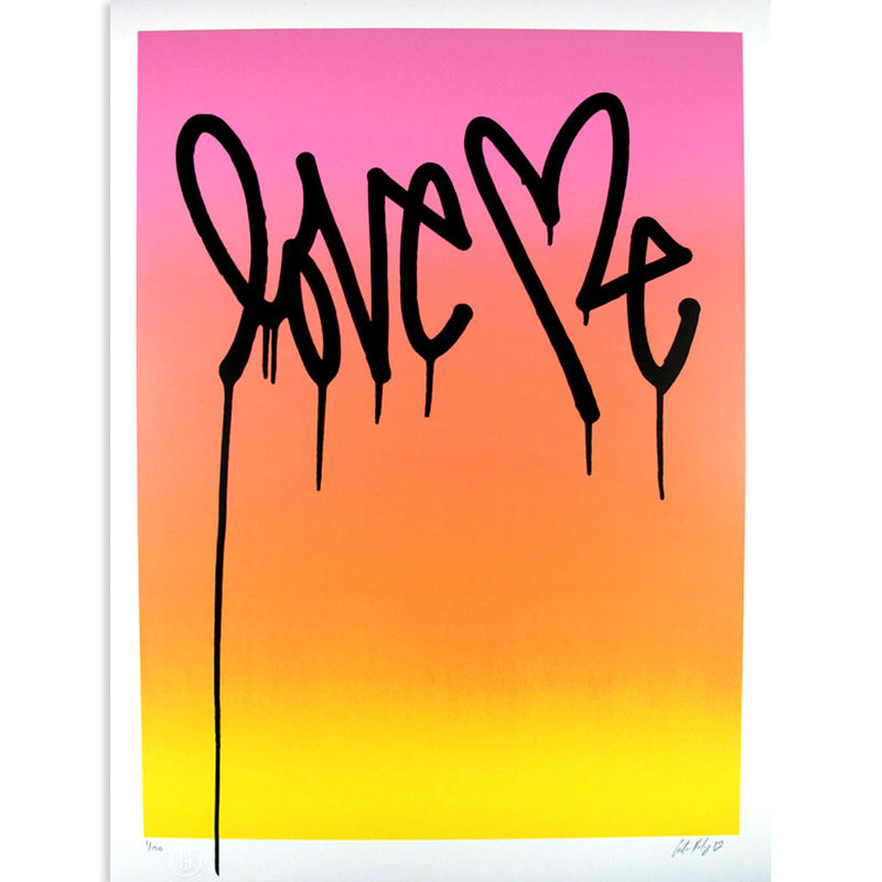 Love Me, Party Day by Curtis Kulig | Archive | Poster Child Prints