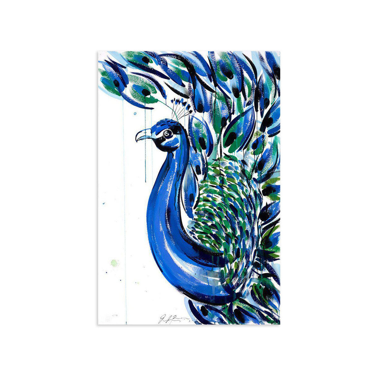 Pavo by Jenna Snyder-Phillips-Archive-Poster Child Prints