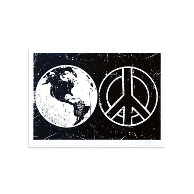 World Peace by Tim Armstrong | Archive | Poster Child Prints