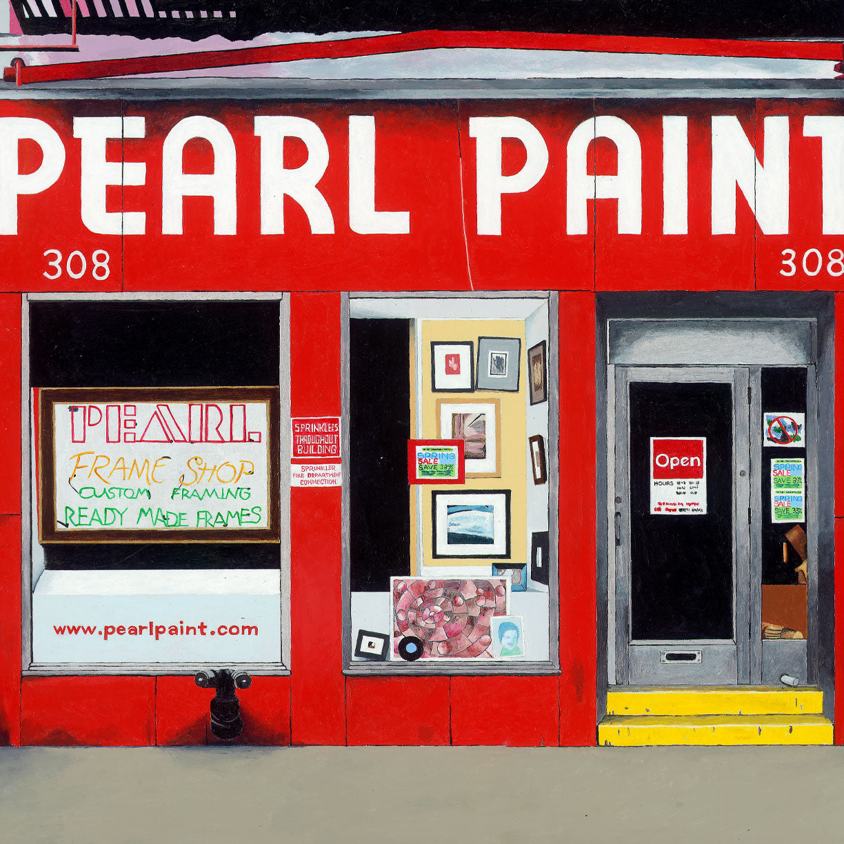 Pearl Paint | Giclee | Limited Edition Prints | Storefront Series