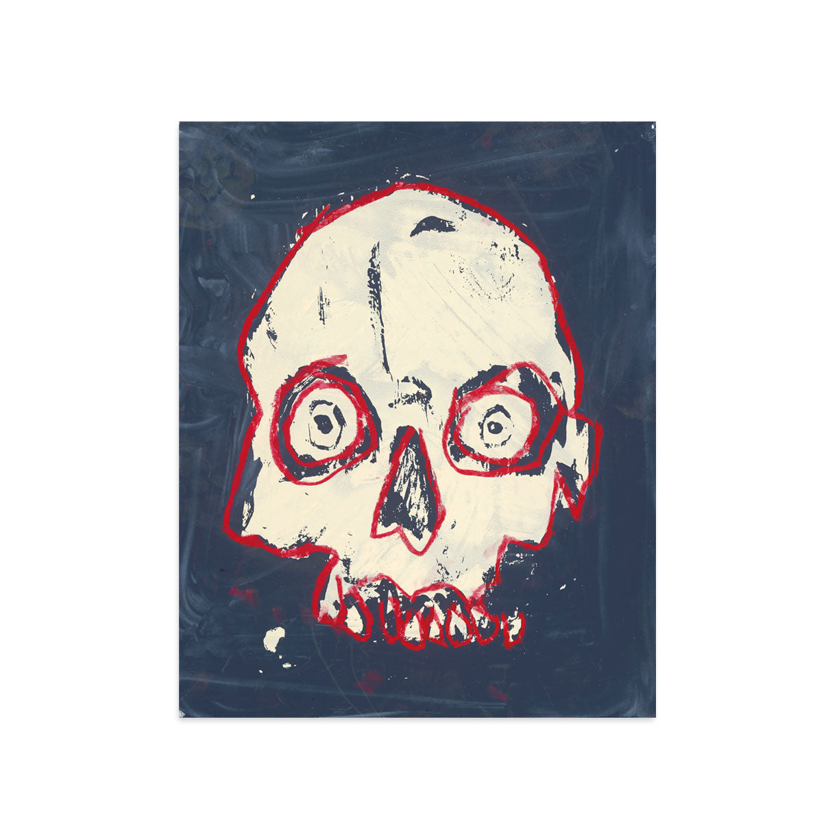Pop Skull by Tim Armstrong | Print | Poster Child Prints