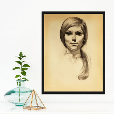 Portrait 1 by Found Art | Found Art | Poster Child Prints