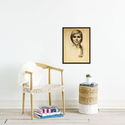 Portrait 1 | Poster Child Prints | Found Art | One of a Kind
