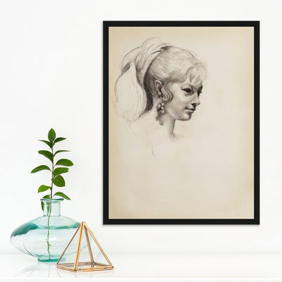 Profile Portrait | Poster Child Prints | Found Art | One of a Kind