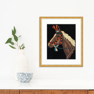 Profile of a Horse, Found Art | Poster Child Prints