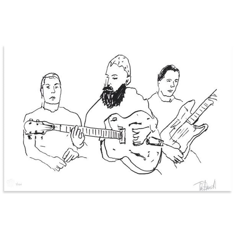Rancid In The Studio - Archive by Tim Armstrong-Archive-Poster Child Prints