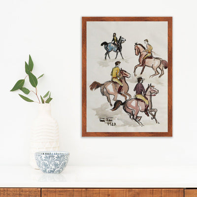 Riding | Poster Child Prints | Found Art | One of a Kind