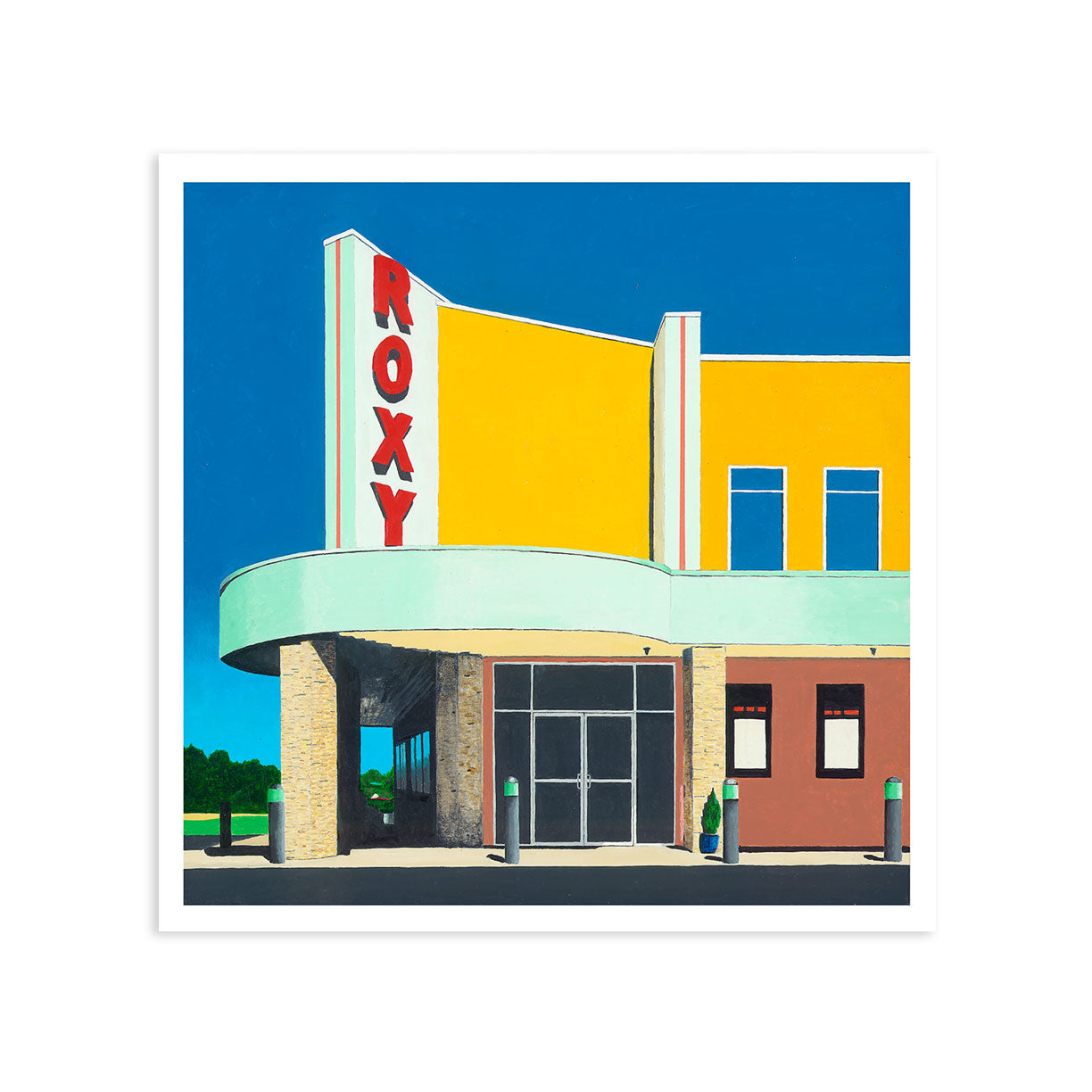 Roxy | Giclee | Limited Edition Prints | Storefront Series