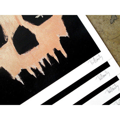 Money Skull ARCHIVE, Tim Armstrong, Print | Poster Child Prints