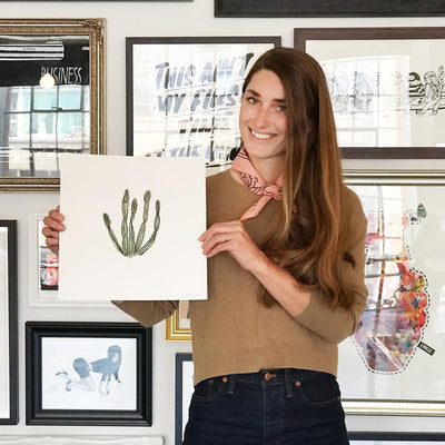 Saguaro, Sara Combs | Poster Child Prints