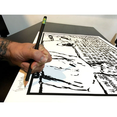 The Contender | Tim Armstrong | Sketch Series