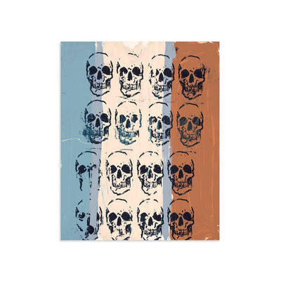 Sixteen Skulls by Tim Armstrong-Print-Poster Child Prints