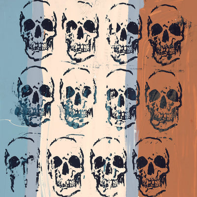 Sixteen Skulls by Tim Armstrong | Archive | Poster Child Prints