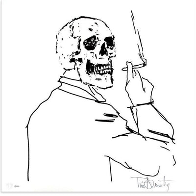 Skullman Smoking, Tim Armstrong | Poster Child Prints