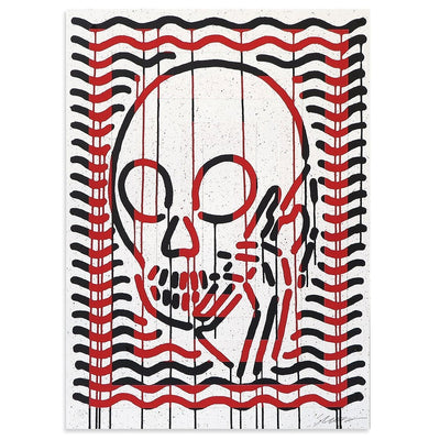 MOP Black & Red AE/1 by Skullphone | Artist Edition | Poster Child Prints