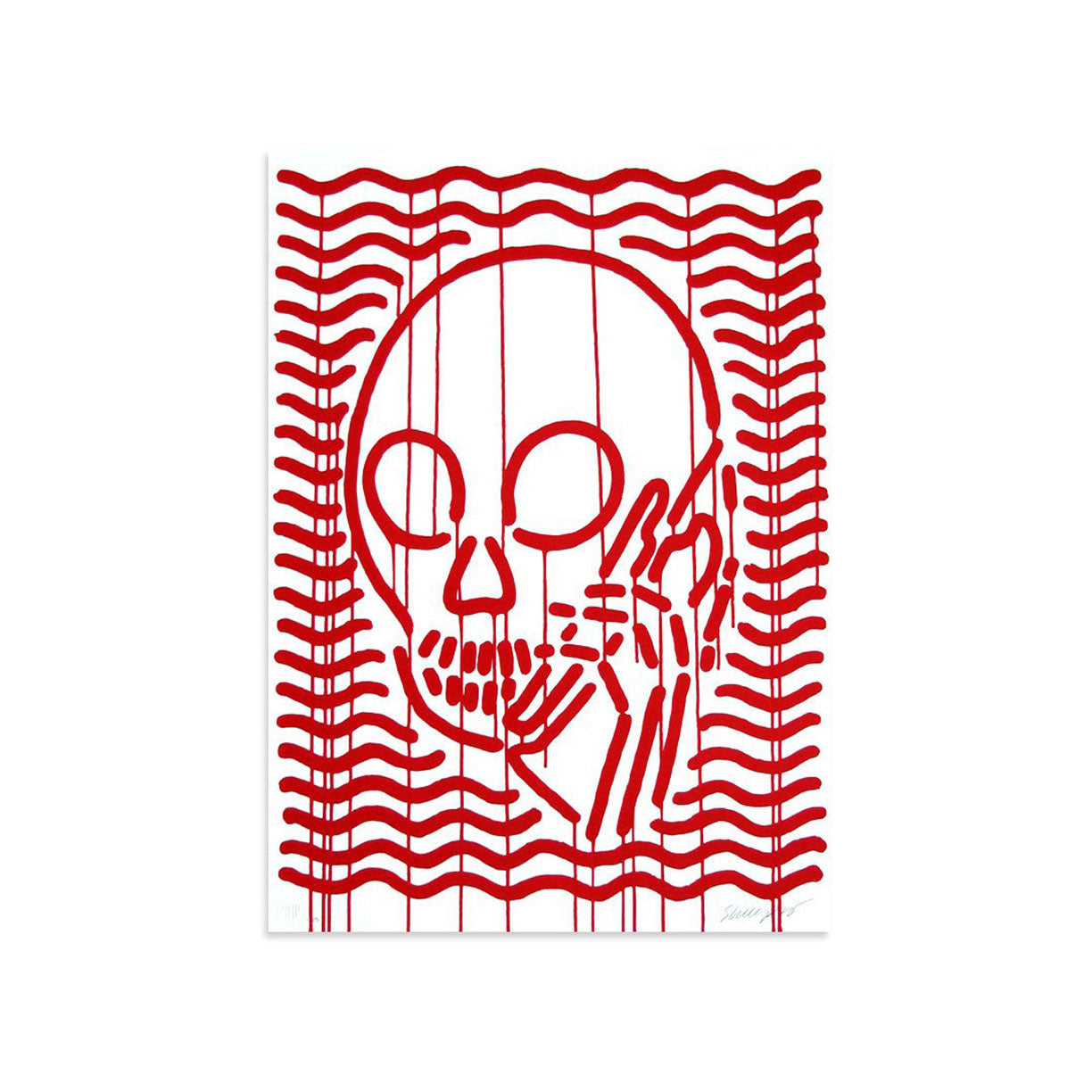 MOP Red by Skullphone-Print-Poster Child Prints