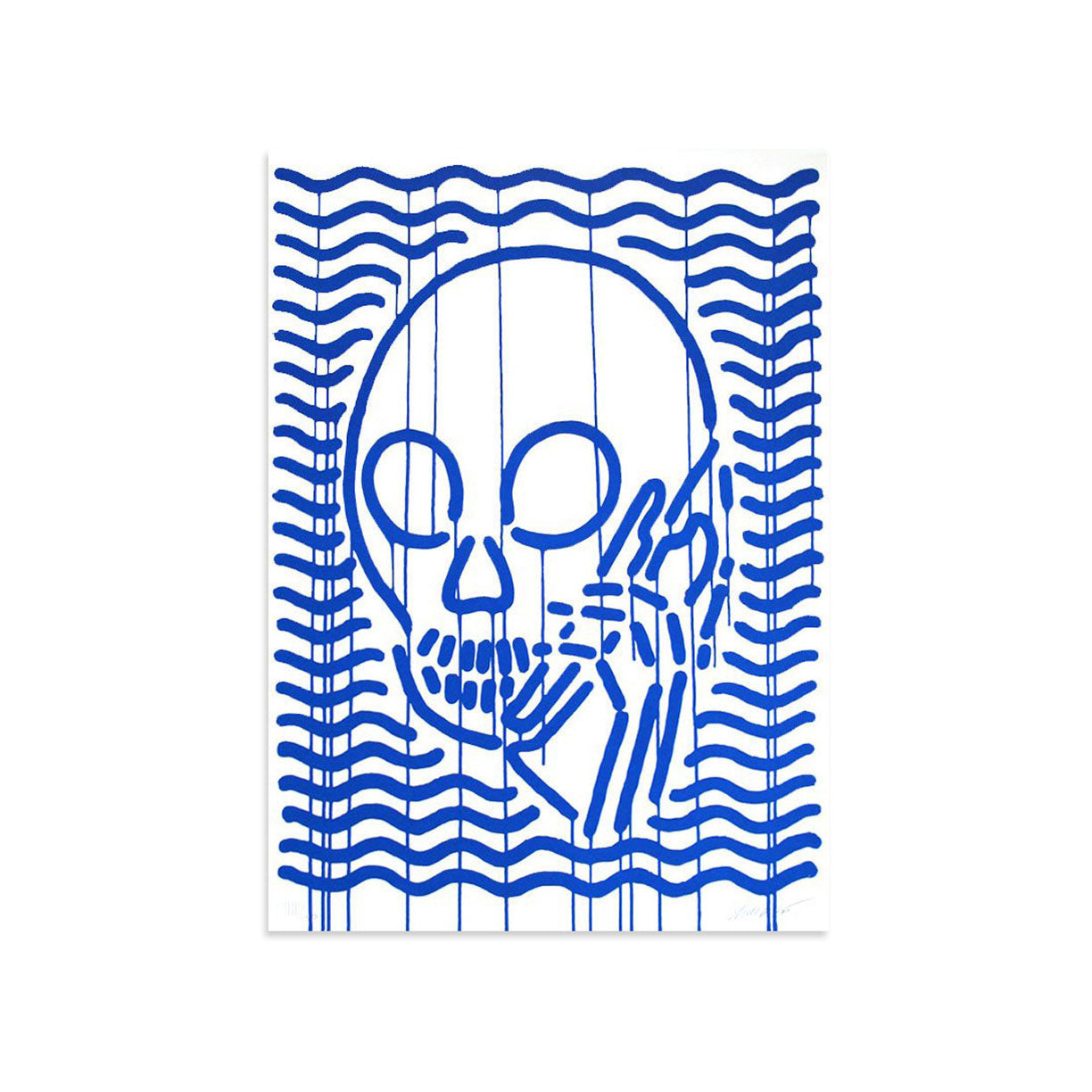 MOP Blue by Skullphone | Archive | Poster Child Prints