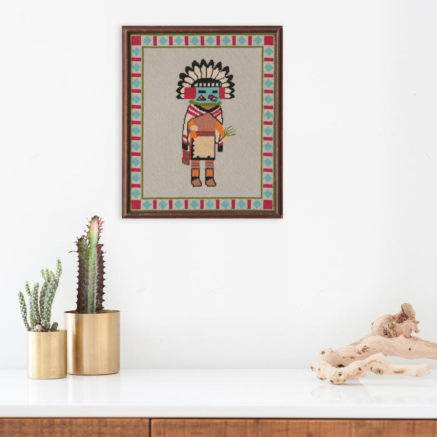 Found Art | Poster Child Prints | Vintage Textile Art | One-of-a-Kind | Indigenous Art | Folk Art