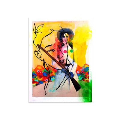 Spaghetti Western II AE/11 by Joshua Petker | Artist Edition | Poster Child Prints
