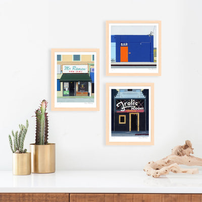 Horace Panter | Bar | Giclee | Limited Edition Prints | Storefront Series