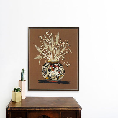 Straw in Vase | Poster Child Prints | Found Art | One of a Kind