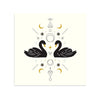 Swan Magic by Rebecca Reitz-Print-Poster Child Prints